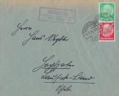 DR Brief Zdr. Minr.S106 Wurzen 10.3.34 Lpst. Kühnitzsch über Wurzen - Briefe U. Dokumente