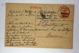 Belgium: Postcard , Mi P10 II, - Guerre 14-18