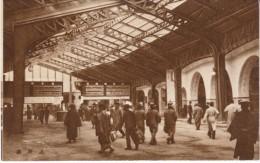 Tokyo Japan, Ueno Train Station Interior, C1930s Vintage Postcard - Tokyo