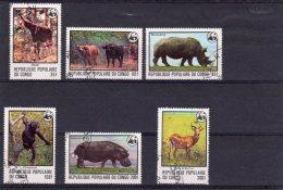 Congo - République Populaire - WWF Oblitérés - Congo - Brazzaville