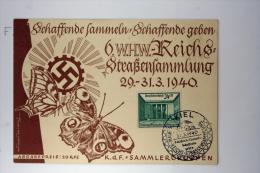 Deutsche Reich Postkarte 6. WHW Reichs Strassensammlung 1940, Mi 743