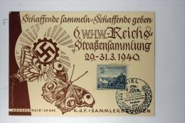 Deutsche Reich Postkarte 6. WHW Reichs Strassensammlung 1940, Mi 731