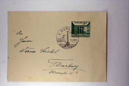 Deutsche Reich Brief 1940, Mi 743 Special Stempel - Deutschland
