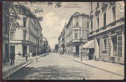 ALTE POSTKARTE BROMBERG ELISABETHSTRASSE ARTHUR LEMKE DELICATESSEN BYDGOSZCZ POMMERN Polska Poland Polen Postcard Cpa AK - Pommern