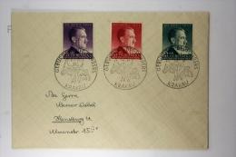 Deutsche Reich General Gouvernement  FDC  Mi 101-103