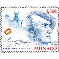 Monaco 2013 Birth Richard Wagner Music Opera Art Nibelung Musique 1v Mnh ** - Musique