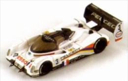 Spark 87008, Peugeot 905 Winner LeMans'93 #3, Brabham - Helary - Bouchut, 1:87 - Véhicules Routiers