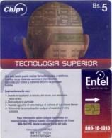 Telefonkarte Bolivien - Werbung  - Tecnologia Superior - BS. 5 - Bolivien
