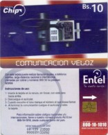 Telefonkarte Bolivien - Werbung  - Comunicacion Veloz - BS. 10 - Bolivien