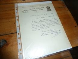 Document Commercial   Entreprise De Menuiserie De Charpente Maurice Terrasson St-Hilaire-de-Villefranch E - France