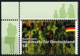 BRD - Michel 3015 - ** Postfrisch Eckrand Oben Links - 58C Bundeswehr - BRD
