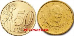VF MOEDA DE 50 CENTIMOS  VATICANO DE 2013 - Vaticano