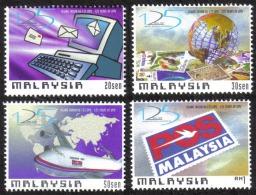 1999 125th Universal Postal Union Air Plane UPU Pitcher Plant Malaysia Stamp MNH - Malaysia (1964-...)