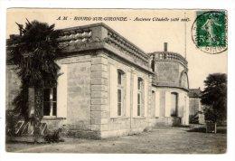 Cp , 33 , BOURG SUR GIRONDE , ANCIENNE CITADELLE , Côté Sud , Voyagée - France
