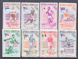 Dominican Republic  474-8, C 97-99  *  OLYMPICS  FLAGS  SPORTS - Dominican Republic