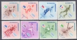 Dominican Republic  479-83, C 100-02  *  OLYMPICS  FLAGS  SPORTS - Dominican Republic