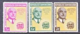 Dominican Republic  497-99  * - Dominican Republic