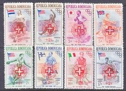Dominican Republic  B 1-5, CB 1-3  *  RED  CROSS  OLYMPICS  SPORTS - Dominican Republic