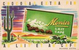 - BUVARD Chocolat MENIER - 253 - Cocoa & Chocolat
