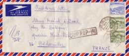 PAKISTAN - CAMP P.O.P-141  GRIFFE LINEAIRE + CACHET A DATE IDEM DU 20-8-1971. - Pakistan
