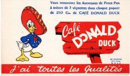 - BUVARD Café DONALD - 257 - Café & Thé