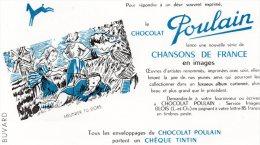 - BUVARD Chocolat POULAIN - 258 - Chocolat