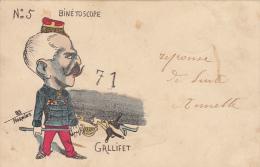 CPA POLITIQUE / GALLIFET / NORWIN'S - Satiriques