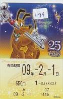 Carte Prépayée Japon * DISNEY  (1199) TOKYO DISNEY RESORT LINE * PREPAID CARD JAPAN * - Disney