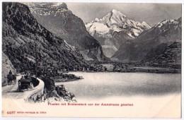 CPA POSTKARTE N° 4487 - SISIKON Uri Suisse - Fluelen Mit Bristenstock Von Der Axenstrasse Gesehen - Edit. Photoglob Co - UR Uri