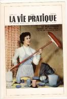 Publicité- Le Plastique -1950-la Vie Pratique-ménagère Au Balai-cpm Repro - Pubblicitari