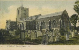 BEDS - BIGGLESWADE - ST ANDREW'S CHURCH - EARLY Bd1 - Autres