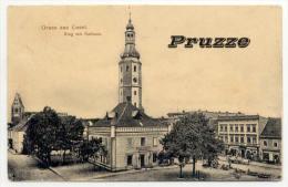 Cosel Ca.  1910, Ring Mit Rathaus - Schlesien