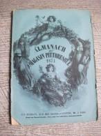 Almanach  Du Magasin Pittoresque 1874 Gravures  Exposition Vienne Lyon Paris - Storia