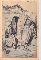 29] Finistère-PLOUGASTEL-Types Et Costumes De France (d´après Illustration HOMUALK) Voir Descr*PRIX FIXE - Plougastel-Daoulas