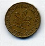 Piece10 Pfennig 1971 - 10 Pfennig