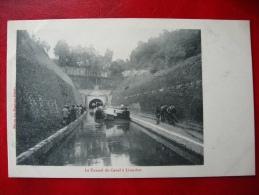 CPA PENICHE - LIVERDUN - Le Tunnel Du Canal - Non Voyagée - Chiatte, Barconi
