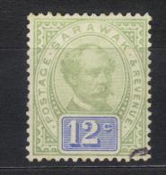 SS1504 - SARAWAK 1889 , Yvert 12 Cent N. 17 Used - Sarawak (...-1963)