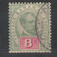 SS1505 - SARAWAK 1889 , Yvert 8 Cent N. 15 Used - Sarawak (...-1963)