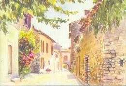 FRANCE : 06/84 : ## La Provence En Aquarelles. ## : Aquarelle De Michèle Gondinet. - Illustrateurs & Photographes