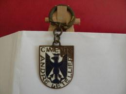 Porte Clef - Ciments, André Letellier (Année 50/60/70 Occasion 2 Photos) - Key-rings