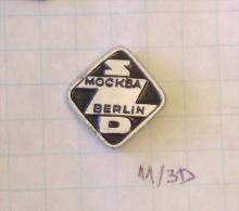 SZD MOSCOW - BERLIN ( DDR GERMANY ALLEMAGNE DEUTSCHLAND) Moskva-Express - Trains-worldexpresses - Transport Und Verkehr