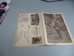 CARTE LETTRE HONNEUR AUX ALLIES  EN FM   3/03/1916  CARTE ILLUSTREE - Other
