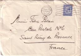 GRANDE BRETAGNE - ENVELOPPE  TIMBRE AVEC PERFORATION N & Z ( NEGRETTI & ZAMBRA LONDRES ) Déchirure D'ouverture. - 1902-1951 (Rois)