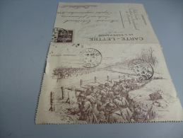 CARTE LETTRE DE L´ESPERANCE  EN FM   3/10/1916  CARTE ILLUSTREE - Other