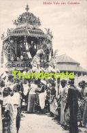 CPA SRI LANKA CEYLON HINDU VALE CAR COLOMBO - Sri Lanka (Ceylon)