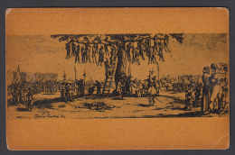 Chriminals Being Hanged By Ropes  Eary France Printed Postcard  # 48704 - Prison