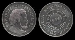 SEYCHELLES . 25 RUPEES . 1977 . - Seychelles