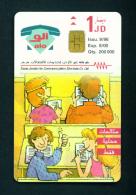 JORDAN - Chip Phonecard as Scan