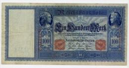 Germania - 100 Marchi 21.04.1910 - P.42 - [ 2] 1871-1918 : Empire Allemand