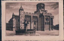 Schlumberger G. Eau Forte, Royat L'Eglise (4453) - Fine Arts